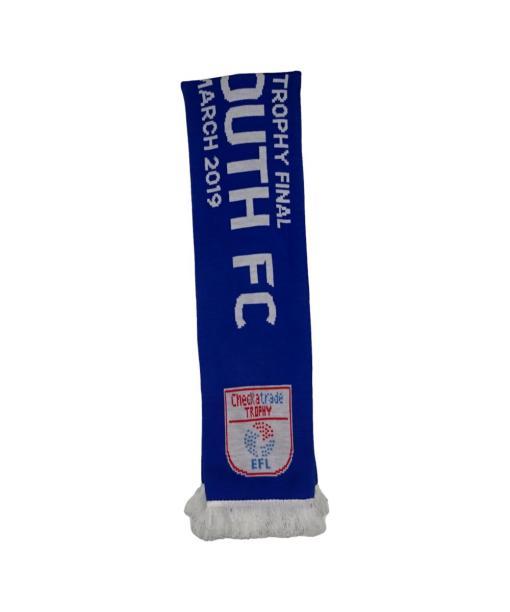 Portsmouth FC 2019 Checkatrade Trophy Final Scarf
