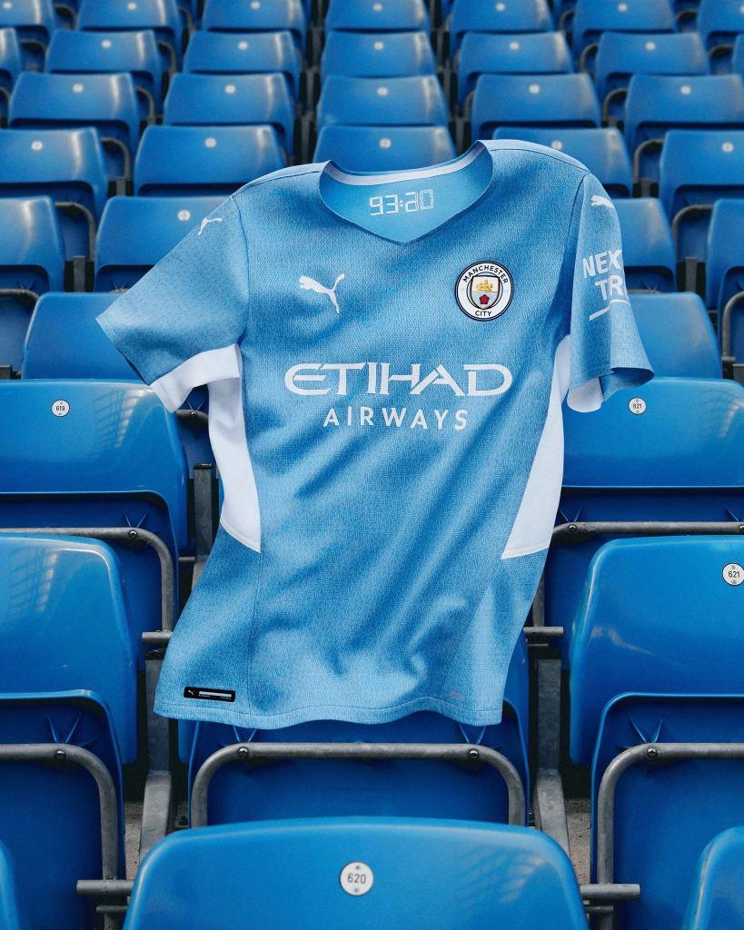 Puma 2021-22 Manchester City Home Shirt