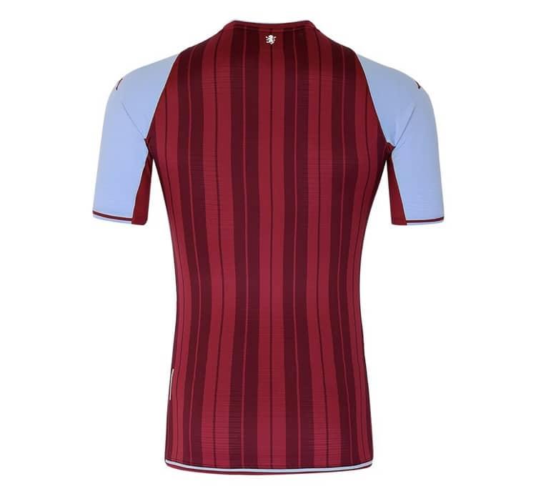Kappa 2021-22 Aston Villa Home Shirt