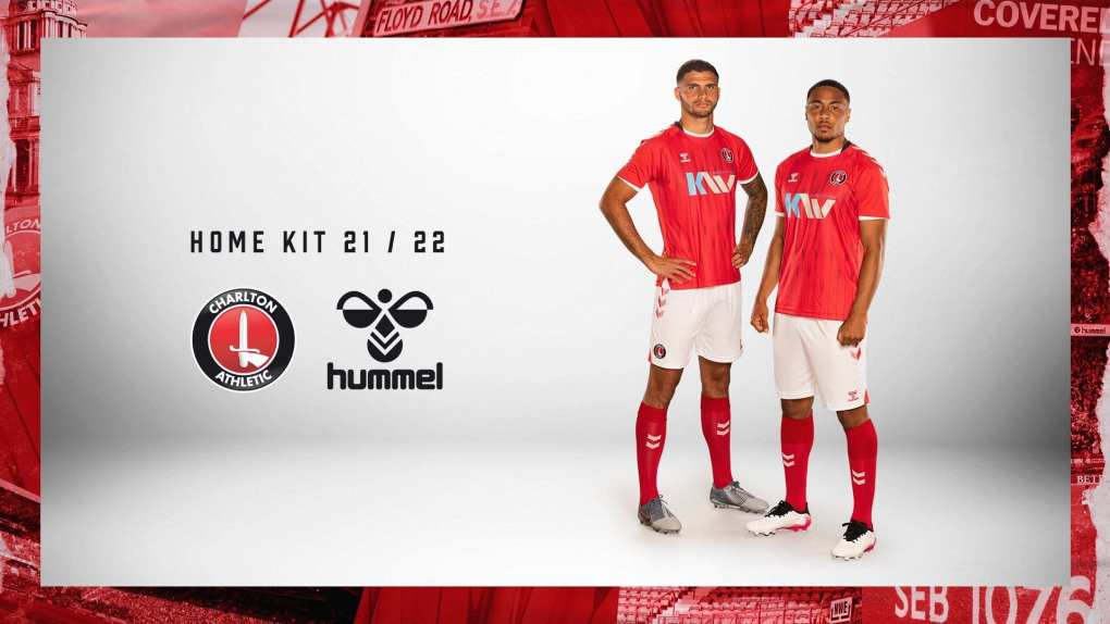 Hummel 2021-22 Charlton Athletic Home Kit