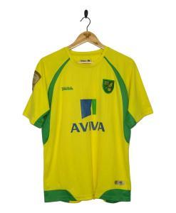 2010-11 Norwich City Home Shirt