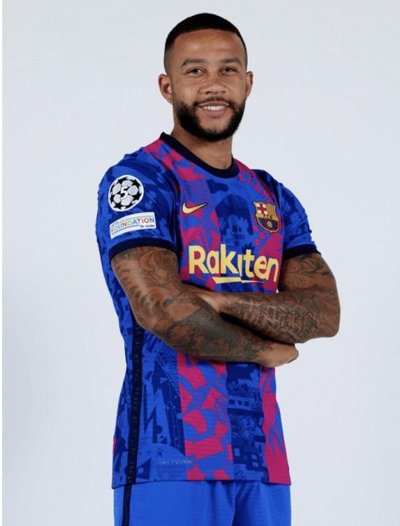 Nike FC Barcelona 2021-22 UEFA Champions League Third Kit 