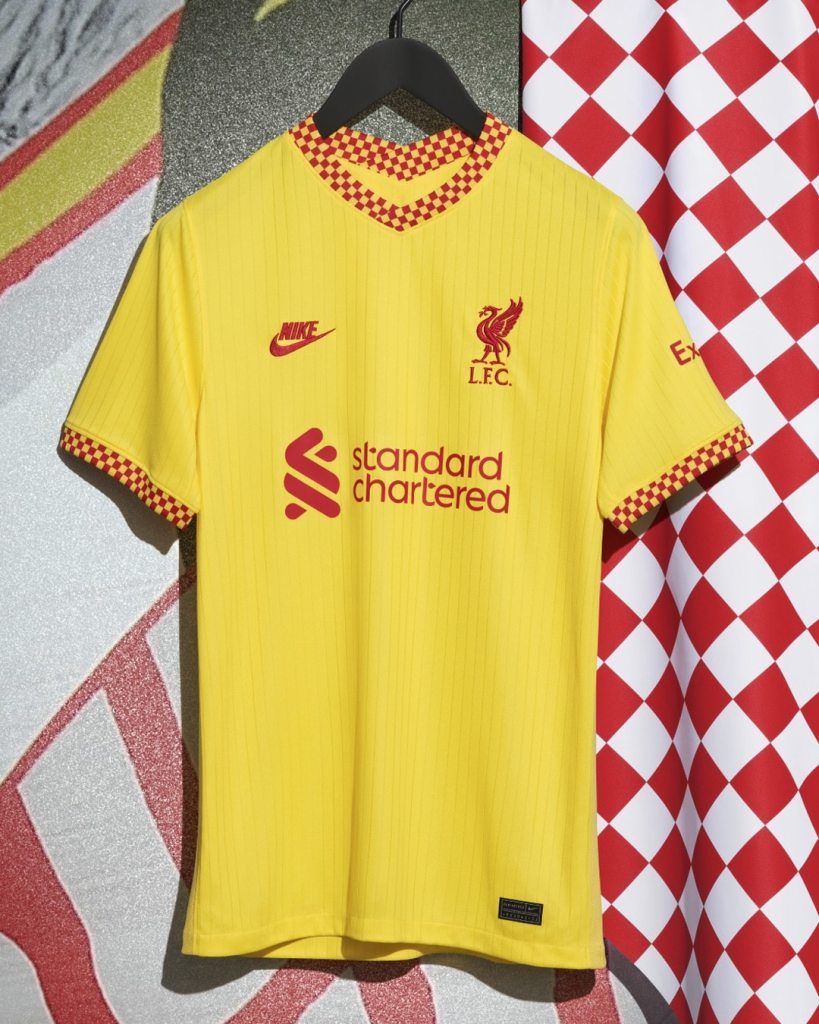 Nike 2021-22 Liverpool Third Kit Released 