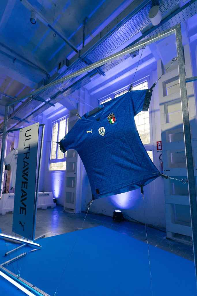 Puma 2021 Italy 'Ultraweave' Shirt Unveiled 
