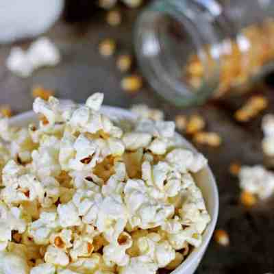 Homemade Kettle Corn (plus the secret to perfectly popped popcorn!)