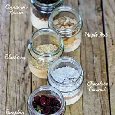 Homemade Quick Oats {5 ways}