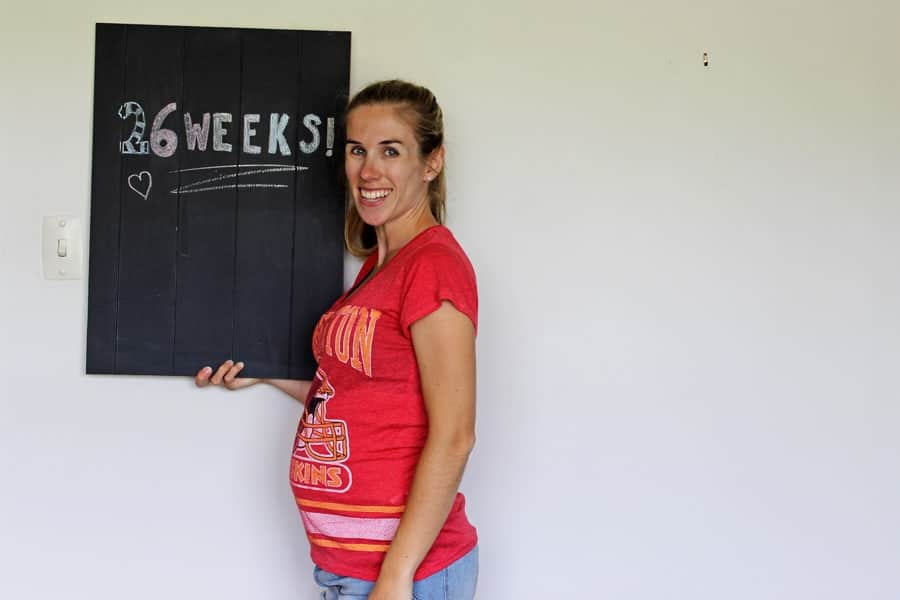 Update on Baby Mac - 26 weeks pregnant! All the things I'm feeling, eating and being excited about!