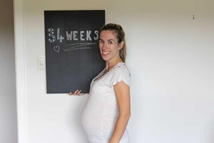Baby Mac Update – 34 weeks