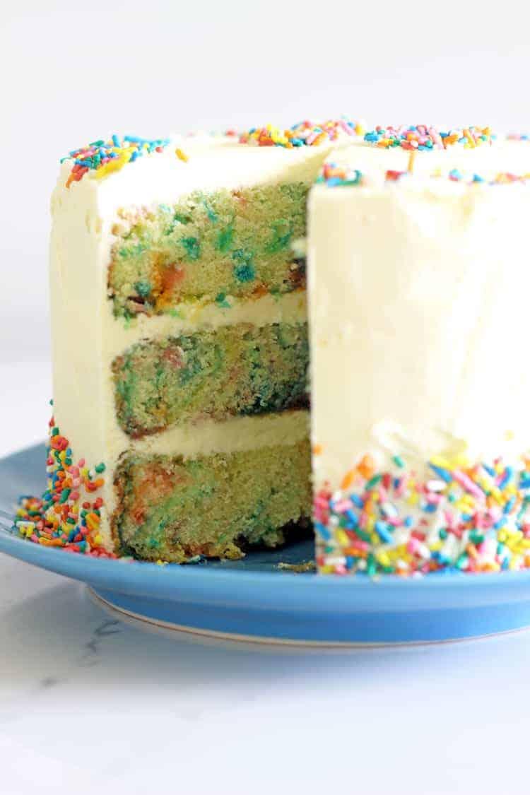 6 Inch Sprinkles Birthday Cake The Kiwi Country Girl
