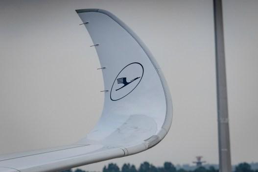 Winglets an der A350-900.