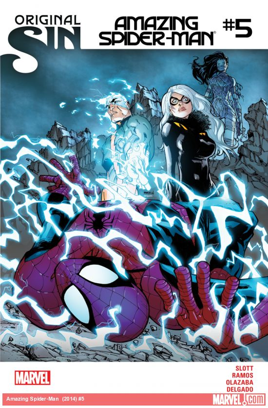 Amazing Spider-Man #5 2014 cover art