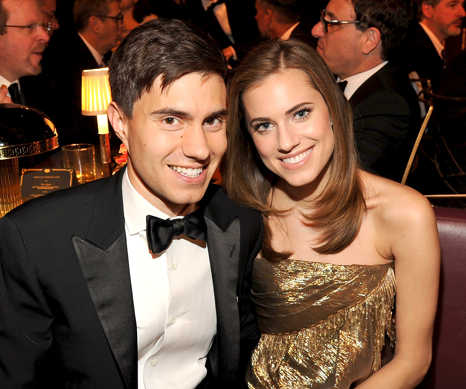 Ricky Van Veen and Allison Williams get married at Brush Creek Ranch in Saratoga, Wyoming.