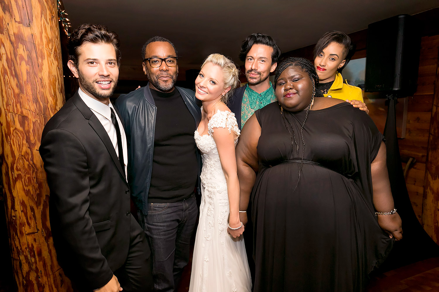 Empire Cast Attends Kaitlin Doubledays Wedding Photos