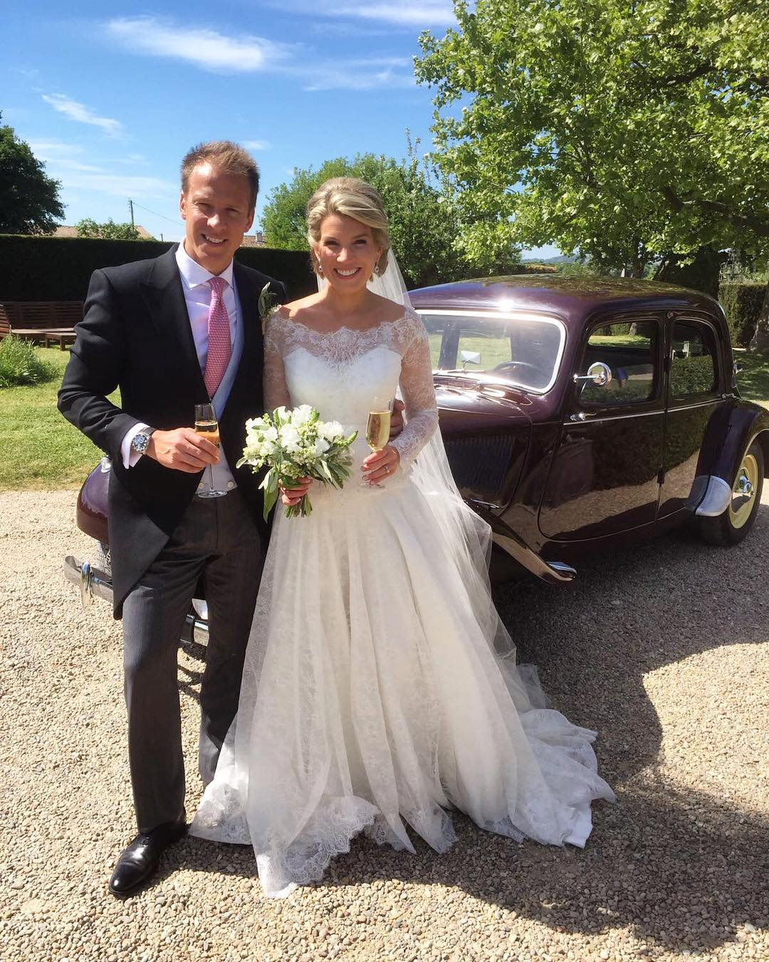 Kate Middletons Stylist Marries Royal Photographer Photos