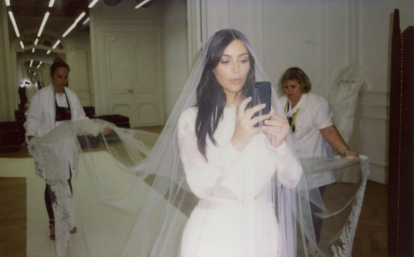 Kim Kardashian Wore a 20 Fragrance on Her Wedding Day