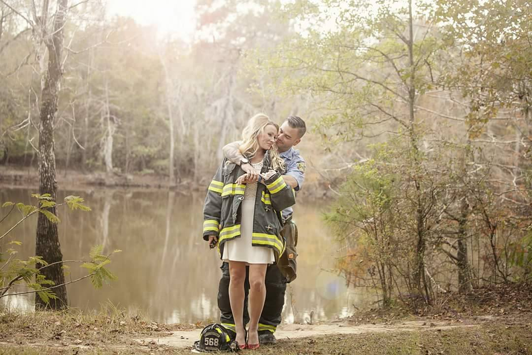 Firefighter Finds Fiances Wedding Dress After Hurricane