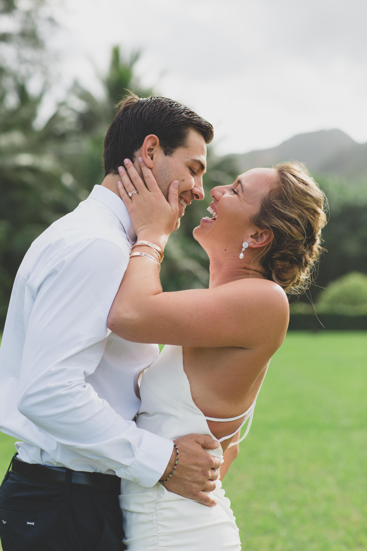 Carissa Moore Reveals Her Backyard Oahu Wedding Album Exclusive