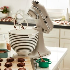 Kitchen Aid Bowls Mobile Home Cabinets Discount Kitchenaid Debuts Custom Stand Mixers So Your Registry Has Changed The Patterned Ceramic Bowl 99 Com Photo Courtesy Of
