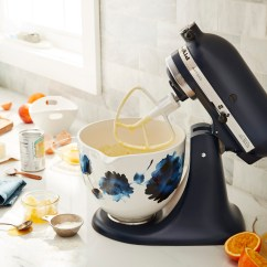 Kitchen Aid Mixing Bowls Griddle Kitchenaid Debuts Custom Stand Mixers So Your Registry Has