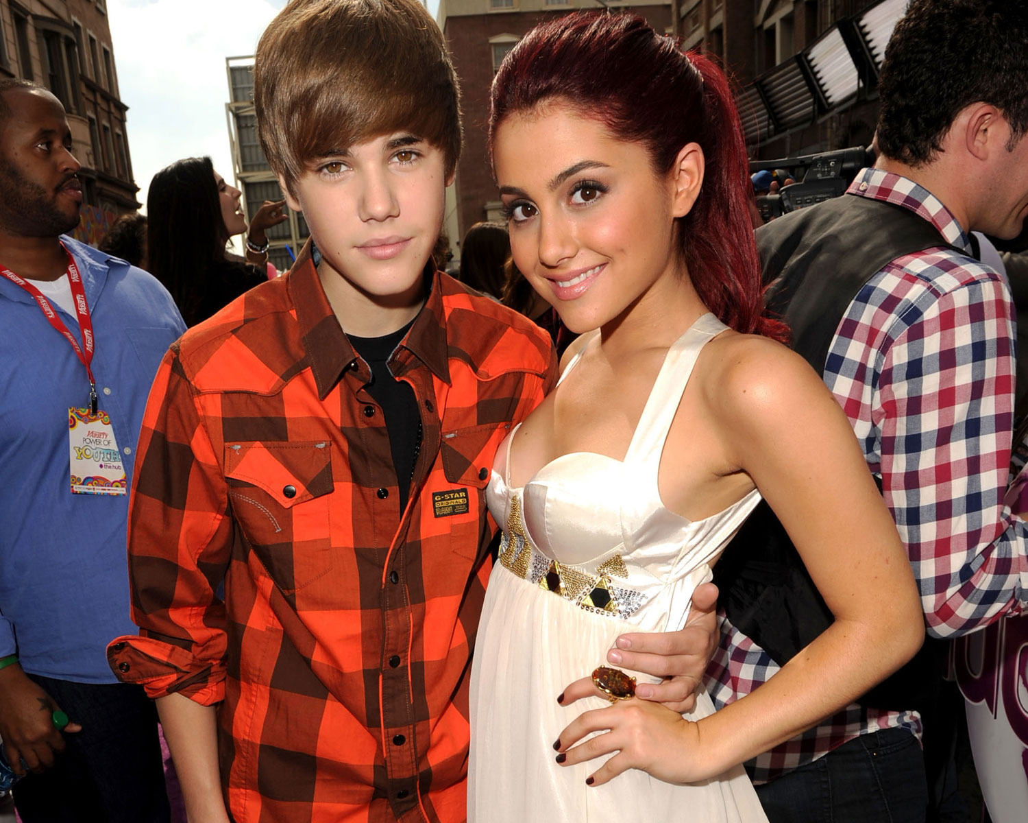Ariana Grande Defends Her and Biebers Recent Engagements