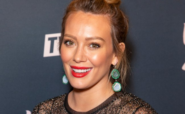 Hilary Duff Sparks Engagement Speculation With Gold Ring Photo