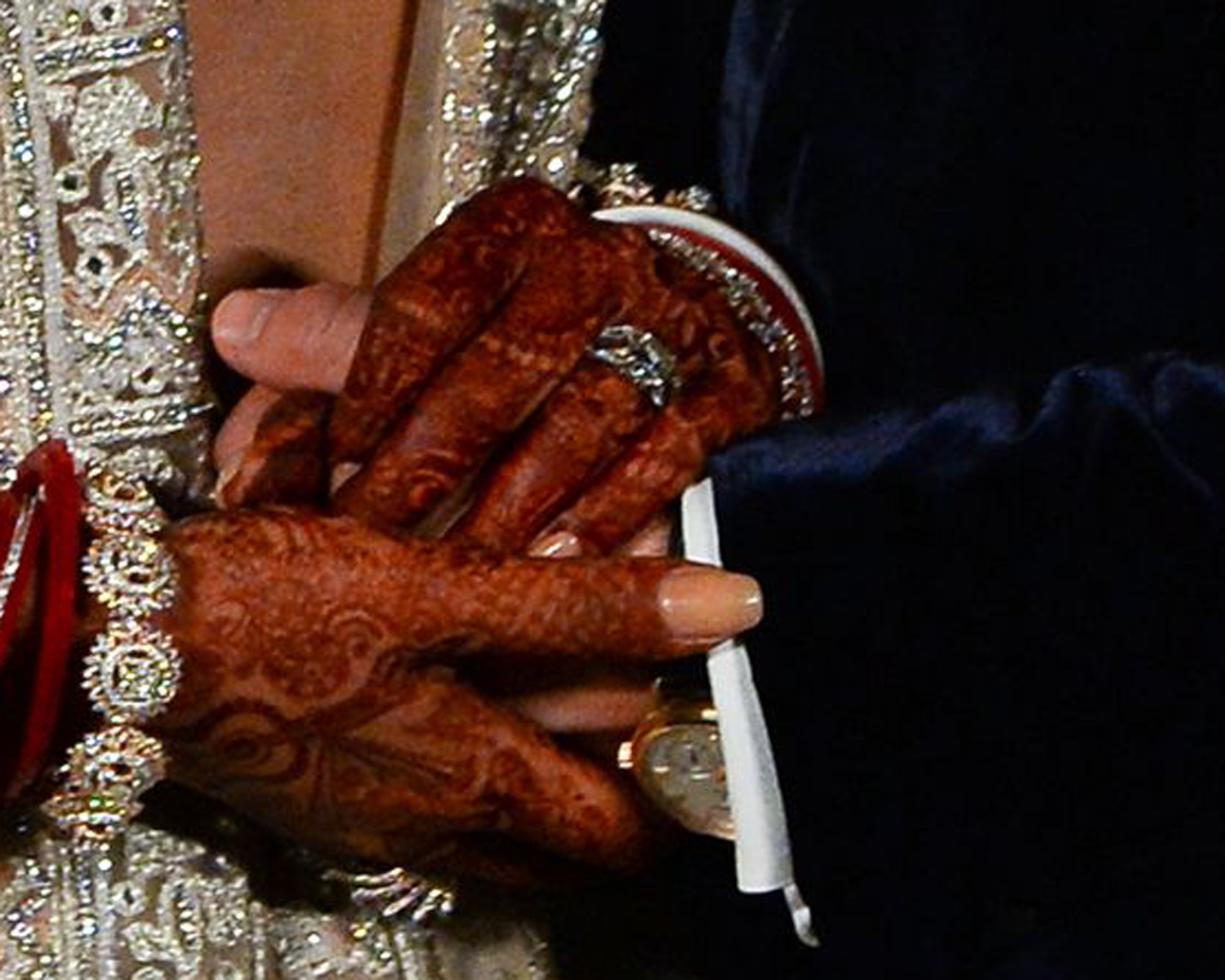 See How Priyanka Chopra Stacked Her Wedding Band And