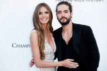 Supermodel Heidi Klum Engaged Tom Kaulitz Ring
