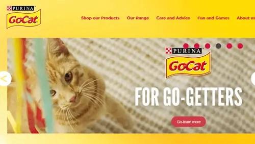 Go-Cat free pet food