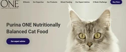 Nutritional Premium Cat Food Purina ONE