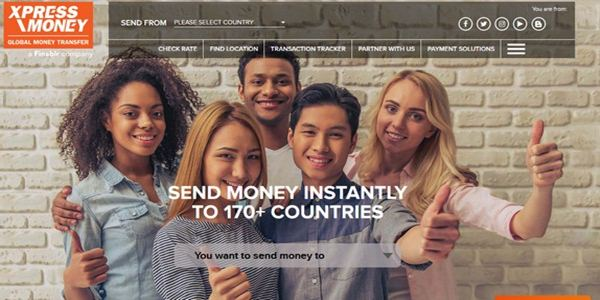 xpress money how to receive