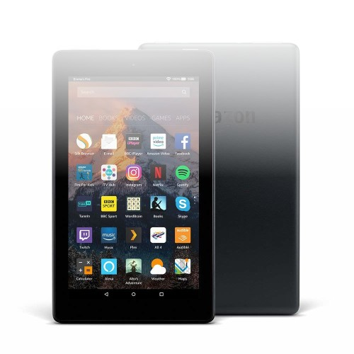 """Fire 7 Tablet with Alexa, 7"""" Display, 8 GB, Black — with Special Offers"""