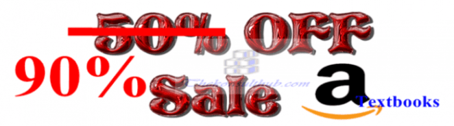 90 Discounted Amazon Textbooks