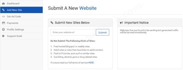 Adsoid Approved Website
