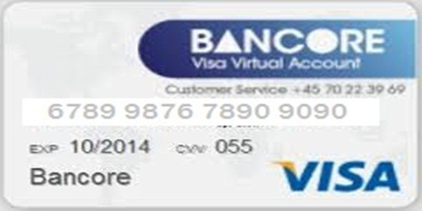 How To Instantly Fund/Load Your Free Bancore Virtual/Plastic Visa ...