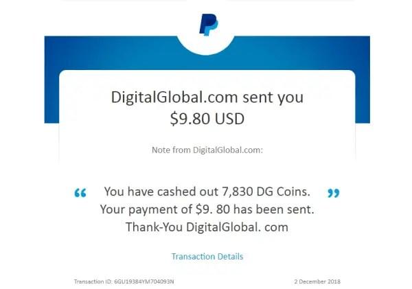 DigitalGlobal Payment Proof