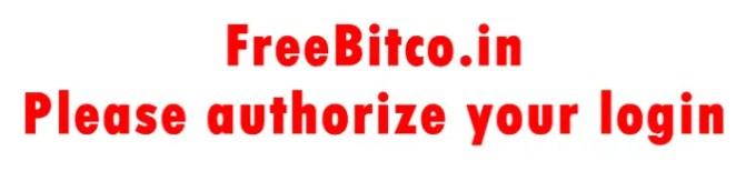 FreeBitco.in - Please authorize your login