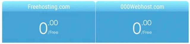 Freehosting vs 000webhost