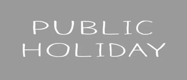 Recognised Public holidays Uganda