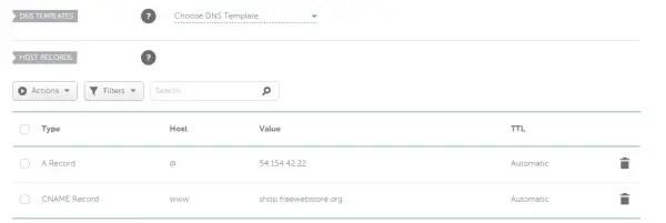 Domain registrar cpanel