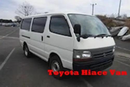 Toyota Hiace Van (Kamunye / Kigege)