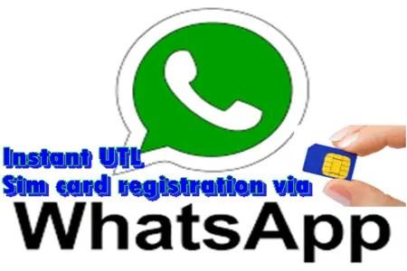 Uganda Telecom SIM Card Registration Using Whastapp