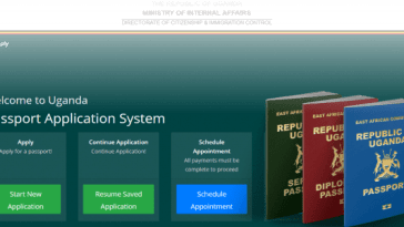 schedule passport appointment
