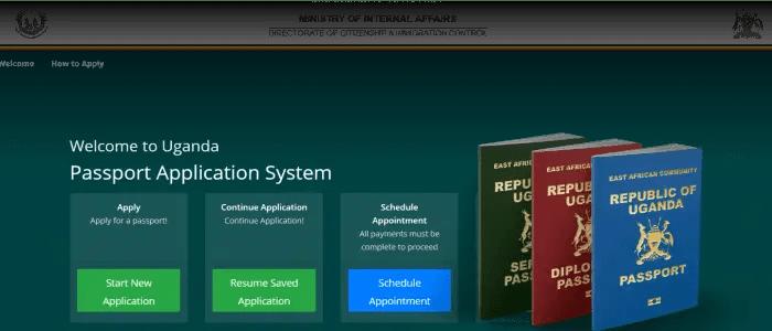 schedule passport appointment