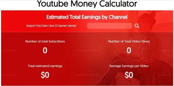 ouTube_earnings_calculator