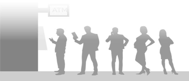 Bank payment queue