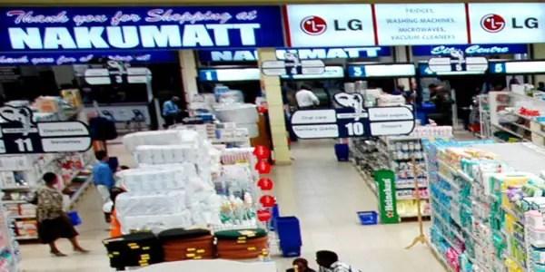 Nakumatt shopping place kampala