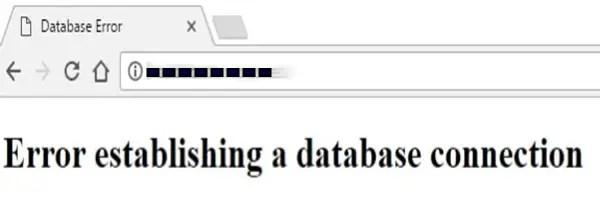Error Establishing a Database Connection in WordPress