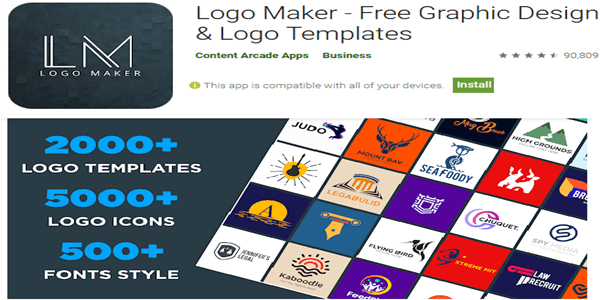 Logo Maker free android app