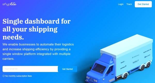 shyplite eCommerce logistics & shipping software solution