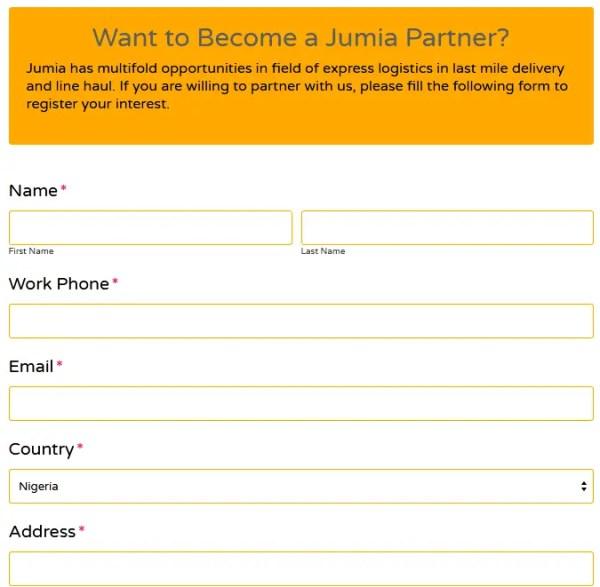 Become a Jumia logistics partner